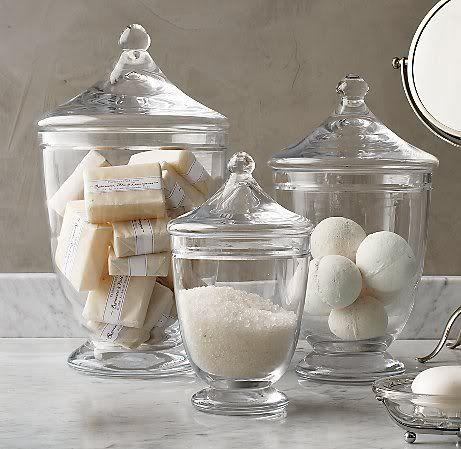 Astuces rangement page 2 belle pour son mari for Bathroom jar ideas