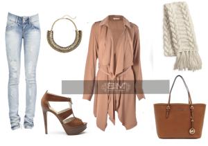 blouse camel 3
